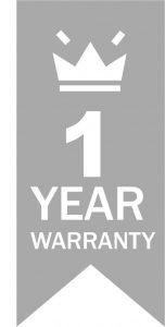1 year logo grey Big 152x300 - Warranty Metal Working Machinery