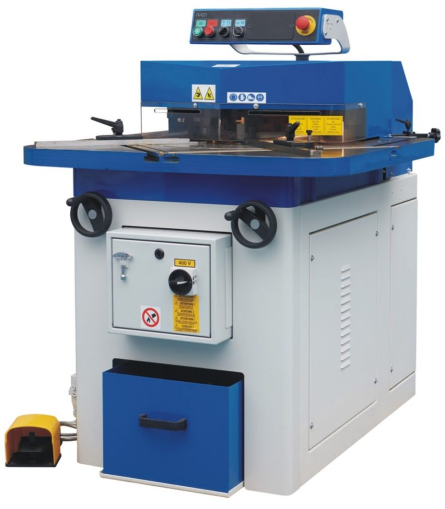 corner notching machine