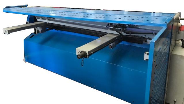 rera view Mech guillotine re sized - Metal Cutting Guillotine Repair Service Breakdown