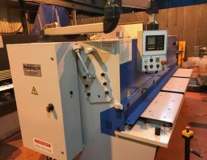 New metalworking machinery