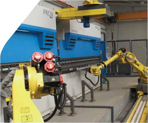 Tandem brake press   large bend capacity   hydraulic synchro