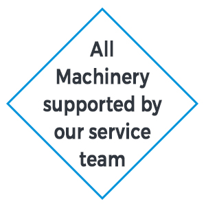 supported machinery