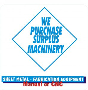 We Purchase Surplus Machinery Jan 2019 003 296x300 - Sell Your Surplus Metalworking Machinery