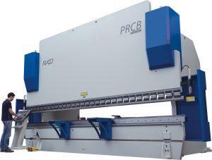 Press Brake. Hydraulic Synchronised Steel Plate Bending Machine