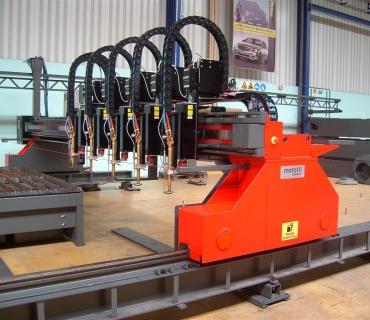 Oxy Fuel Cutting Machine Gantry Type MOTOFIL DRAGOm