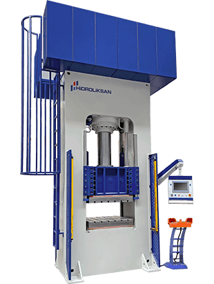 HIDROLIKSAN SMC-HHRP HOT PLATED PRESS