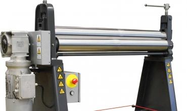 Powered Sheet Metal Rolling Machine - 8264