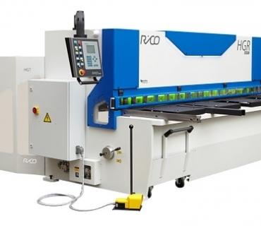 Metal Cutting Guillotine Hydraulic<br>Variable Rake | Vertical Cut<br>RICO Model HGR
