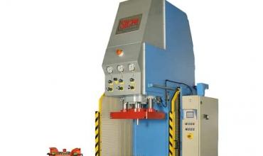 Open Fronted Adjustable Stroke Hydraulic Press