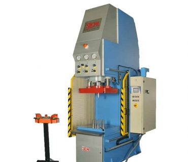 Open Fronted Adjustable Stroke Hydraulic Press