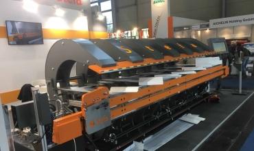 Beam Folding Machine Powered Hydraulic